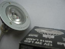 3W LED spotlight MR16 (12V) Elco