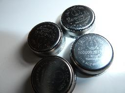 4 iButton Thermochrons